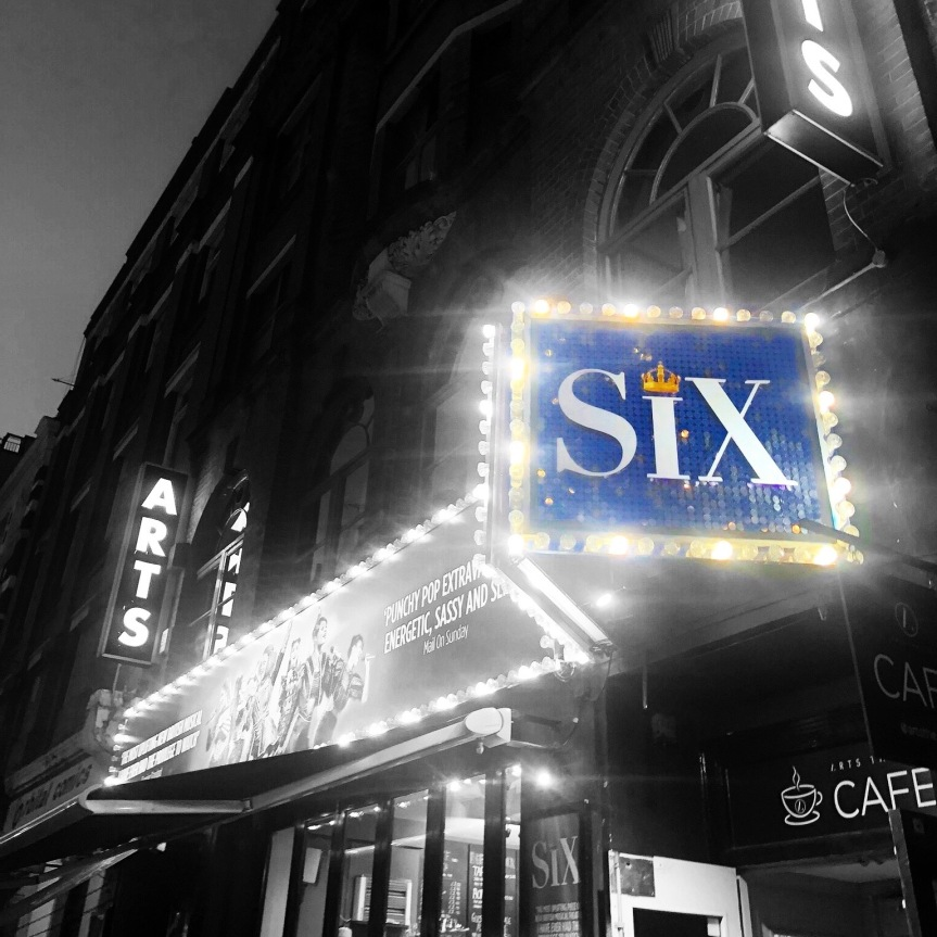 My undying love for: SIX THE MUSICAL
